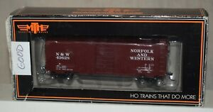 MTH No. 81-74009 N&W Norfolk & Western 40' PS-1 Boxcar Production Sample - HO