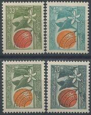 ALGERIE PREO N°20/23** Branches et fleurs d'oranger , 1963 ALGERIA Set MNH