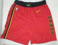 Nike Atlanta Hawks NBA Icon Swingman Basketball Shorts Mens All Sizes 879950 NWT