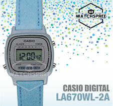 Casio Ladies' Standard Digital Watch LA670WL-2A
