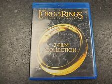 The Lord of the Rings: 3-Film Collection (Blu-ray Disc, 2014)