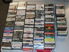 Lot of 184 Cassette Tapes - Classic Rock 60's 70's 80's BOWIE JOURNEY VAN HALEN