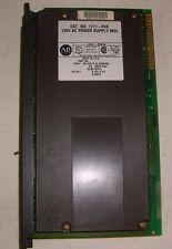 AB Allen Bradley 1771-P4S , Power Supply Module , (PLC1)