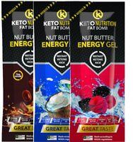Keto Nutrition Nut Butter Gel 20g (Box 20)