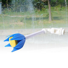 Pool Central Adjustable Blue White Yellow Flower Fountain for Pool Spa