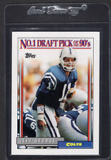 1992 Topps No. 1 Pick Jeff George #1 of 4 Colts Mint
