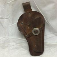Vintage Leather Toy Belt Holster Cowboy
