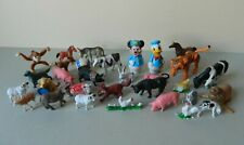 Collection of Plastic Animals Toys