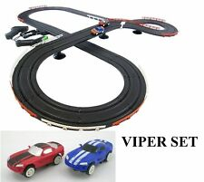 Viper Challenge Slot Car Track Ho Scale Race Set IMPROVED 2016!