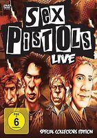 SEX PISTOLS - LIVE   DVD NEU