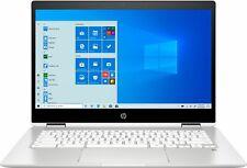 "HP - 2-in-1 14"" Touch-Screen Chromebook - Intel Celeron - 4GB Memory - 32GB e..."