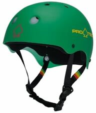 Protec Classic Skate Helmet Rasta Green  Size Medium Skate Scooter Pro-Tec