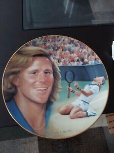 Bjorn Borg Tennis Hackett American 8 & 1/2 Inch Plate
