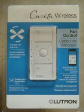 Lutron Caseta Wireless Smart Fan Speed Control PD-FSQN-WH-R-NEW