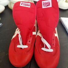 Mens Vintage Onitsuka Tiger Red And White Wrestling Shoes 10