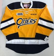 New Authentic Pro Stock CCM Erie Otters OHL Hockey Player Jersey Size 54 7287