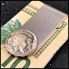 Credit Card Money Clip Wallet Indian Head Nickel Vintage Coin USA 5 Cents