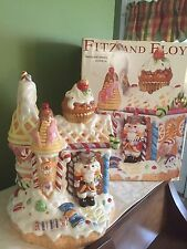 "Fitz & Floyd Nutcracker Sweets Cookie Jar Large 11"" (New in Box)"