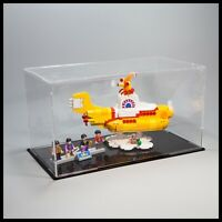 The Yellow Submarine Beatles Acrylic Display Case for the LEGO model 21306