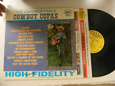 Cowboy Copas LP The Unforgettable   Starday 234 M- to VG++ monaural