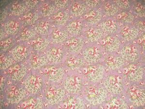 SHABBY COTTAGE PURPLE PINK ROSES PILLOW SHAMS URBAN OUTFITTERS PARIS CHIC