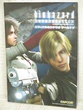 BIOHAZARD Degeneration Visual Scenario Archive Resident Evil CG Art Book CP59*