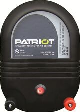 Patriot P20 50 Mile Fence Charger Dual Purpose!