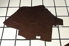 Zebu Medium Brown Scrap Leather Hide Approx. 9 sqft. RK75M22-7