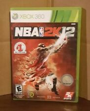 NBA 2K12 - Xbox 360 Complete With Manual