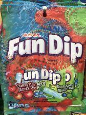 LIK-M-AID 3.0 oz Bag FUN DIP Candy Sugar+Sticks CHERRY YUM RAZZ-APPLE