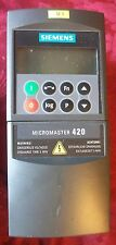Siemens Micromaster 420 Frequency Convertor