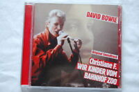 David Bowie: Christiane F.-Wir Kinder Vom Bahnhof Zoo (1981, Soundtrack, OST) CD