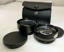 Vivitar Telephoto & Wide angle Lens for Mamiya 528TL 52mm threaded screw in AUX