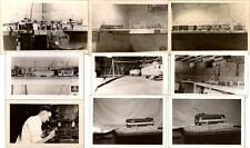 1940s Ohio Model Railroad Train Setup Track Layout Trolley Rail Cars Photos