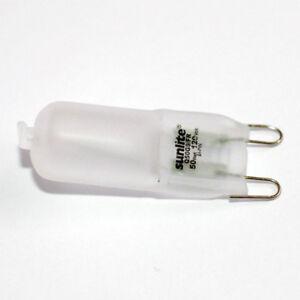 SUNLITE 50w 120v T3.5 G9 Frosted Single Ended Halogen Light Bulb