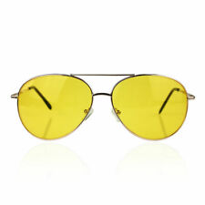 86751f027da Fear and Loathing in Las Vegas Yellow Amber Tinted Lens Sunglasses Glasses  Adult
