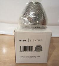 WAC Lighting G115-CH Mesh Bulb Shield, Chrome Finish