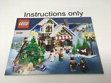 ONLY instructions LEGO 10199 Seasonal Winter Village Toy Shop no bricks/parts