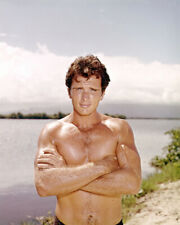 Ron Ely in Tarzan bare chested arms folded 16x20 Canvas Giclee