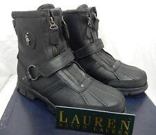 Polo Ralph Lauren Conquest III High Boots  11D Black $139.00