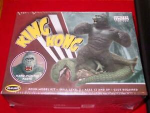 "Polar Lights - King Kong 9"" Resin Model Kit 1/72 (SEALED) Limited Edition /500"