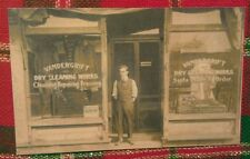 c1910 Vandergrift PA. Dry Cleaning Works Suits Tailors Advertising Postcard Repo