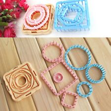 9X Flower Daisy Knitting Loom Maker Wool Yarn Needle Knit Craft Tool