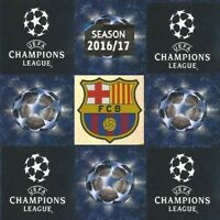 Match Attax Champions League 2016-17 Single Football Cards Barcelona - Various