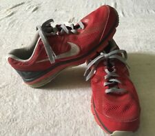 Men's Nike Shoes Air Max Defy Size 10.5 Running Red Gray Sneakers