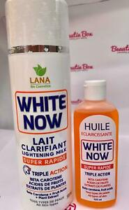 White Now Lait Clarificant Whitening Body Lotion And Serum (500ml)
