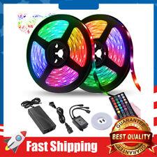 LED Strip Lights 32.8FT LED Music Sync Color Changing Lights RGB 300 led