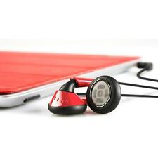 Iskin Eartones Auriculares Internos para Ipod Touch, Iphone y Ipad - Rojo/Negro