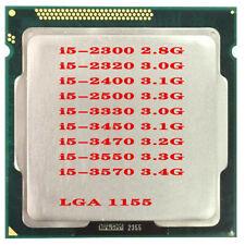 LOT Intel I5-2300 I5-2320 I5-2400 I5-2500 I5-3330 i5-3450 i5-3470 i5-3570 CPU
