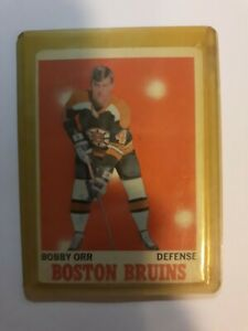 Bobby Orr 1970-71 Topps Boston Bruins NHL HoF